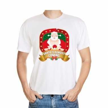 Foute kers santa is almost coming heren kersttrui
