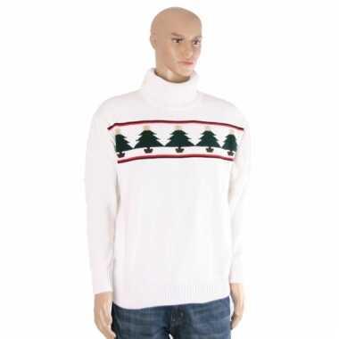 Foute kerst polo kerstbomen kersttrui
