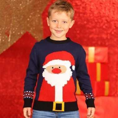 Foute kersttrui kerstman kids