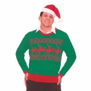 Foute kersttruien rendiertjes