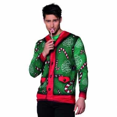 Foute verkleed kerst heren kersttrui