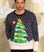 Foute d kersttrui kerstboom