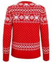 Foute dames kersttrui nordic