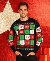 Foute heren kersttrui adventskalender