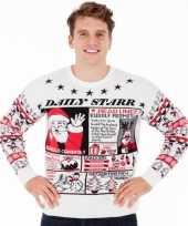 Foute kersttrui daily starr heren