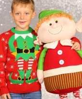 Foute kersttrui kerstelf kids