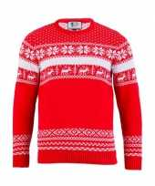Foute kersttrui the red nordic heren