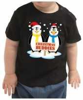 Foute zwart kers kleding christmas buddies peuters kinderen kersttrui